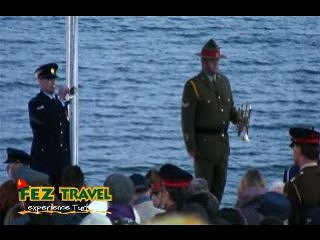 View our ANZAC day - Dawn Service video [9.2 Kb 1:58 mins]