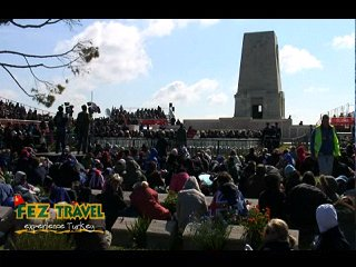 View our ANZAC Day at Gallipoli - Australian involvement at ANZAC Cove and Lone Pine Memorial. [1:06]
